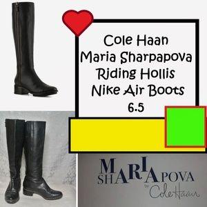 Cole Haan Maria Sharpapova Riding Hollis Nike Boot